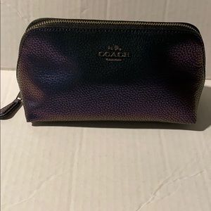NWT Coach Hologram Cosmetic bag